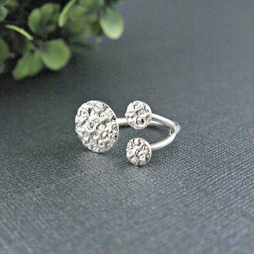 Coral Open Ring