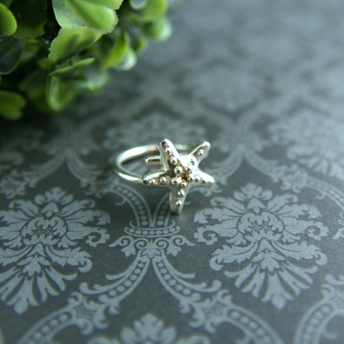 Starfish adjustable ring