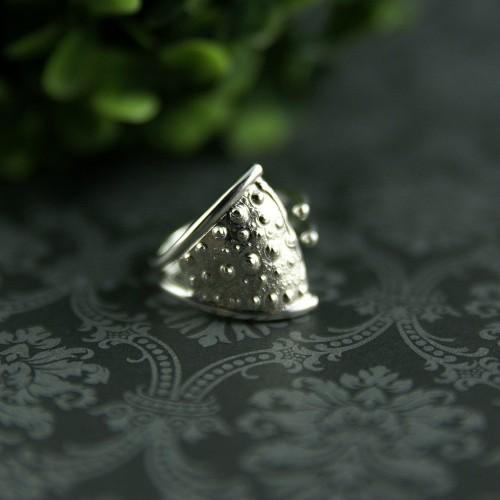 Sea Urchin Open Ring