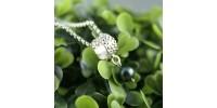Bracelet Stingray avec perle noire